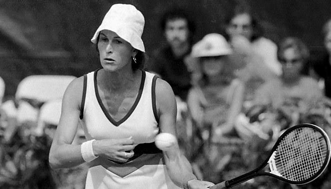 Transgender tennis player Renee Richards