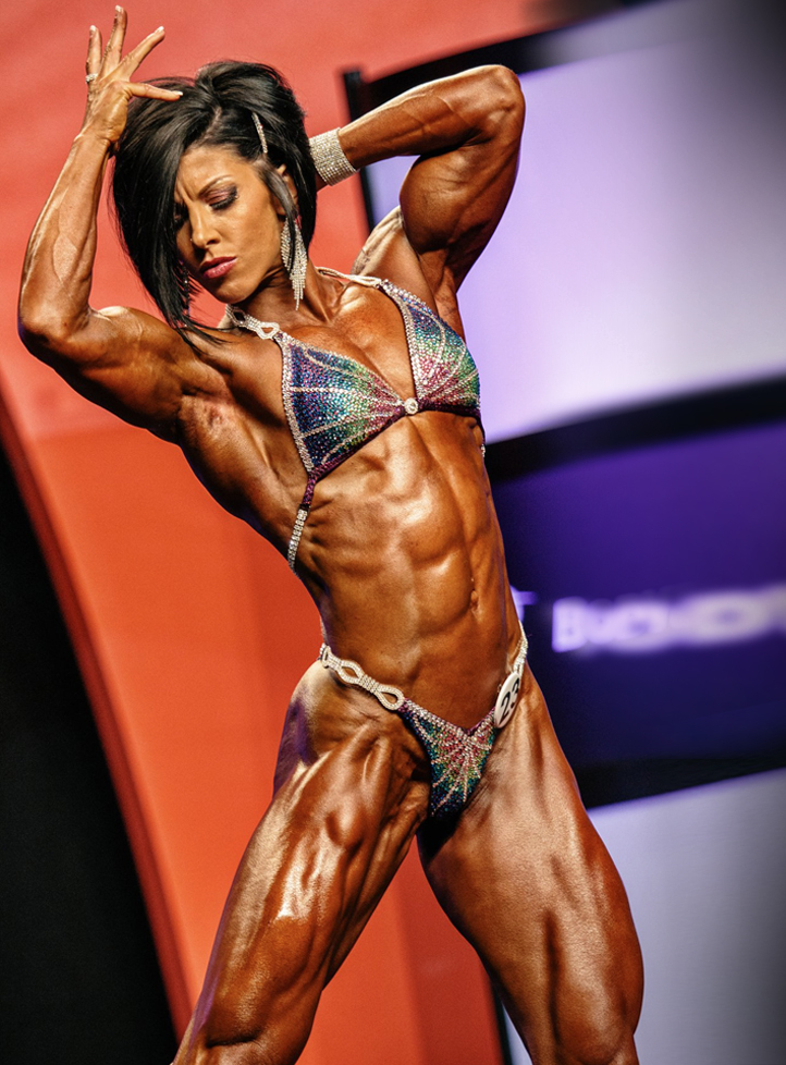 Big breasts with muscle