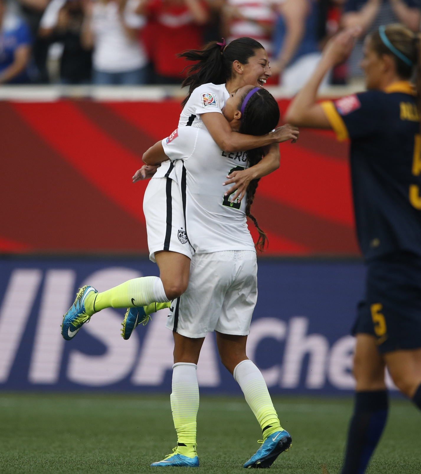 Don't Worry, Score Happy: How Christen Press Became A Budding U S