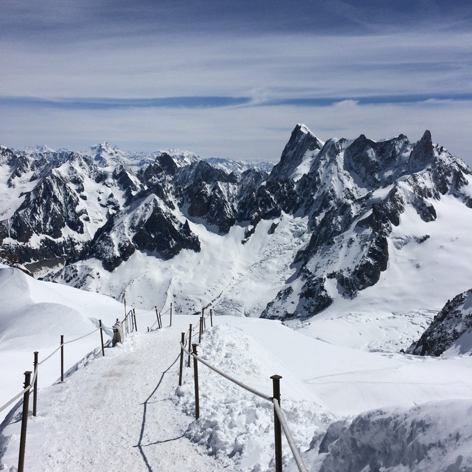 More than 100 skiers died in the alps this winter was it just a entrance to the vallee blanche from the aguille du midi rubansaba