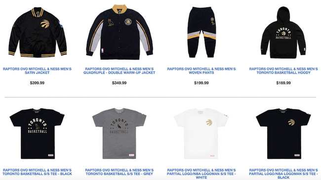 8b62c7c275f New Raptors, OVO Gear Comes Just in Time for Drake Night - VICE