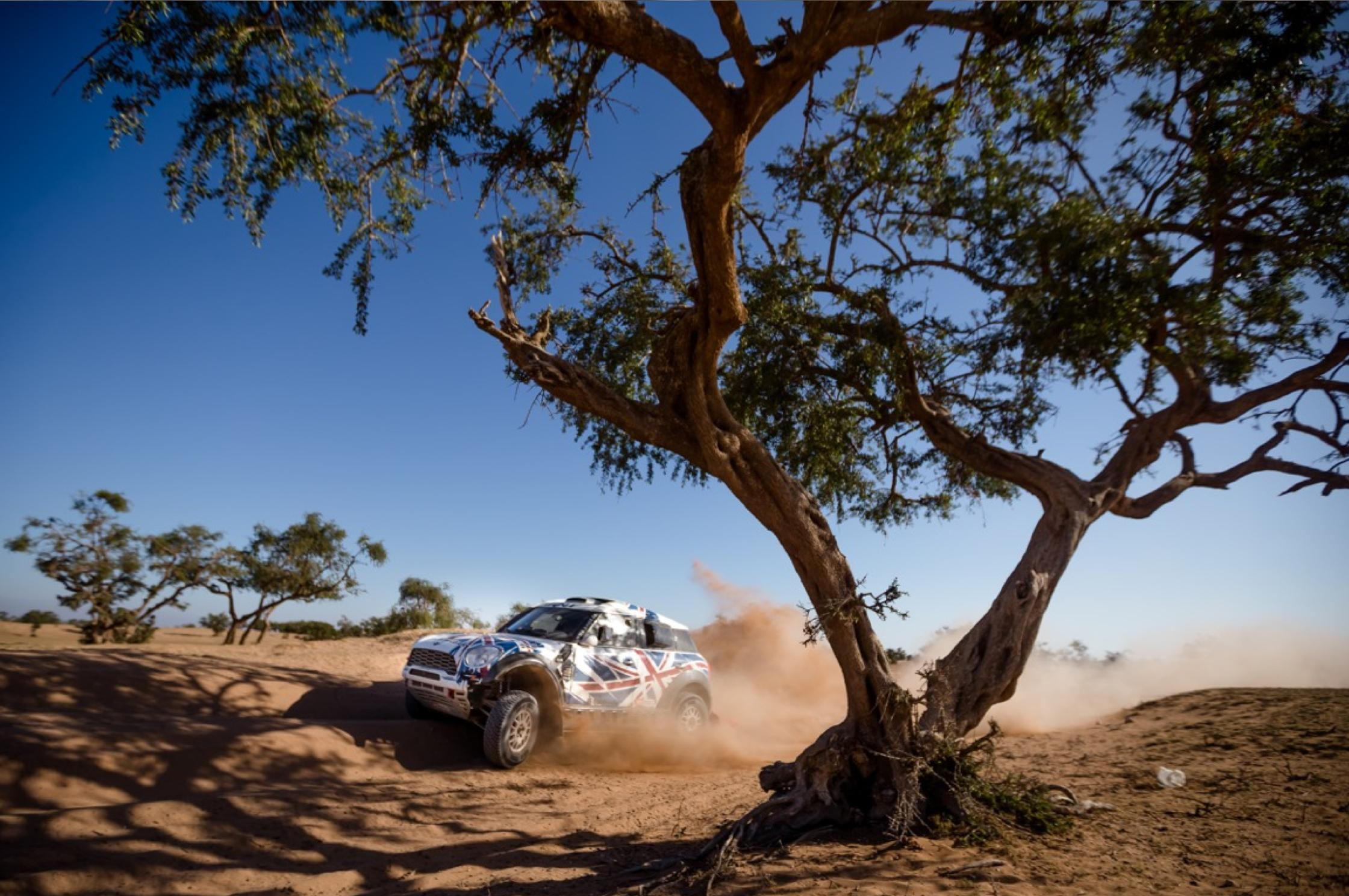 """""""It's been a very steep learning curve,"""" says Hunt. """"That's because there's so much you don't even think about. We did our first rally raid last May in the ..."""
