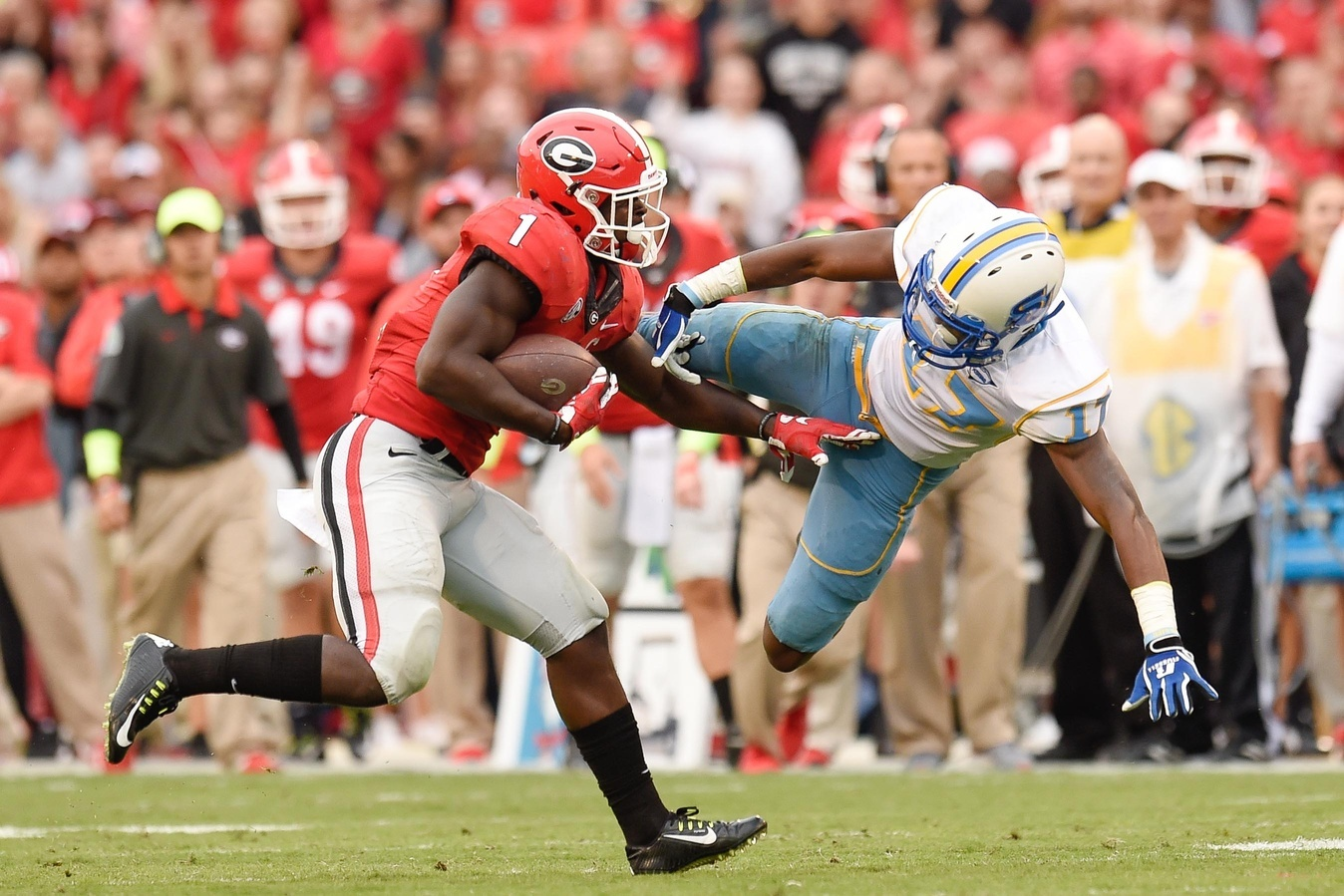 Southern University S Football Team In White Lost At Georgia 48 6 2017 Photo By Dale Zanine Usa Today Sports