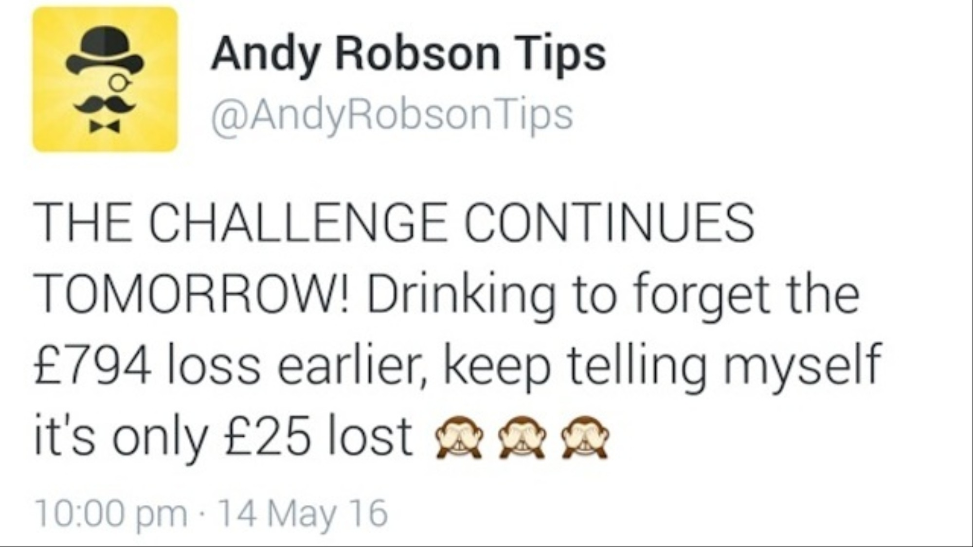 A Mug's Game: How Twitter Tipsters Are Profiting on Losing