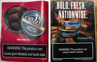 Campaign to Snuff out Smokeless Tobacco in Baseball