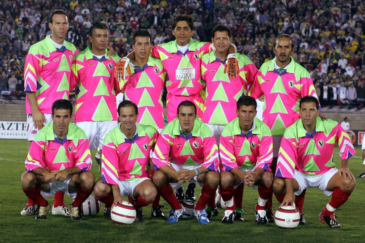c6c5839c183 Campos' farewell friendly saw his team kitted out in appropriate attire //  Reuters