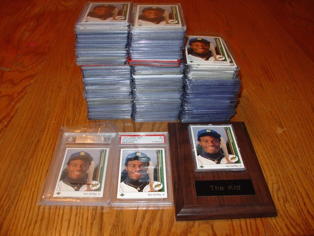 Meet The Man Who Owns Over 400 Ken Griffey Jr Upper Deck Rookie