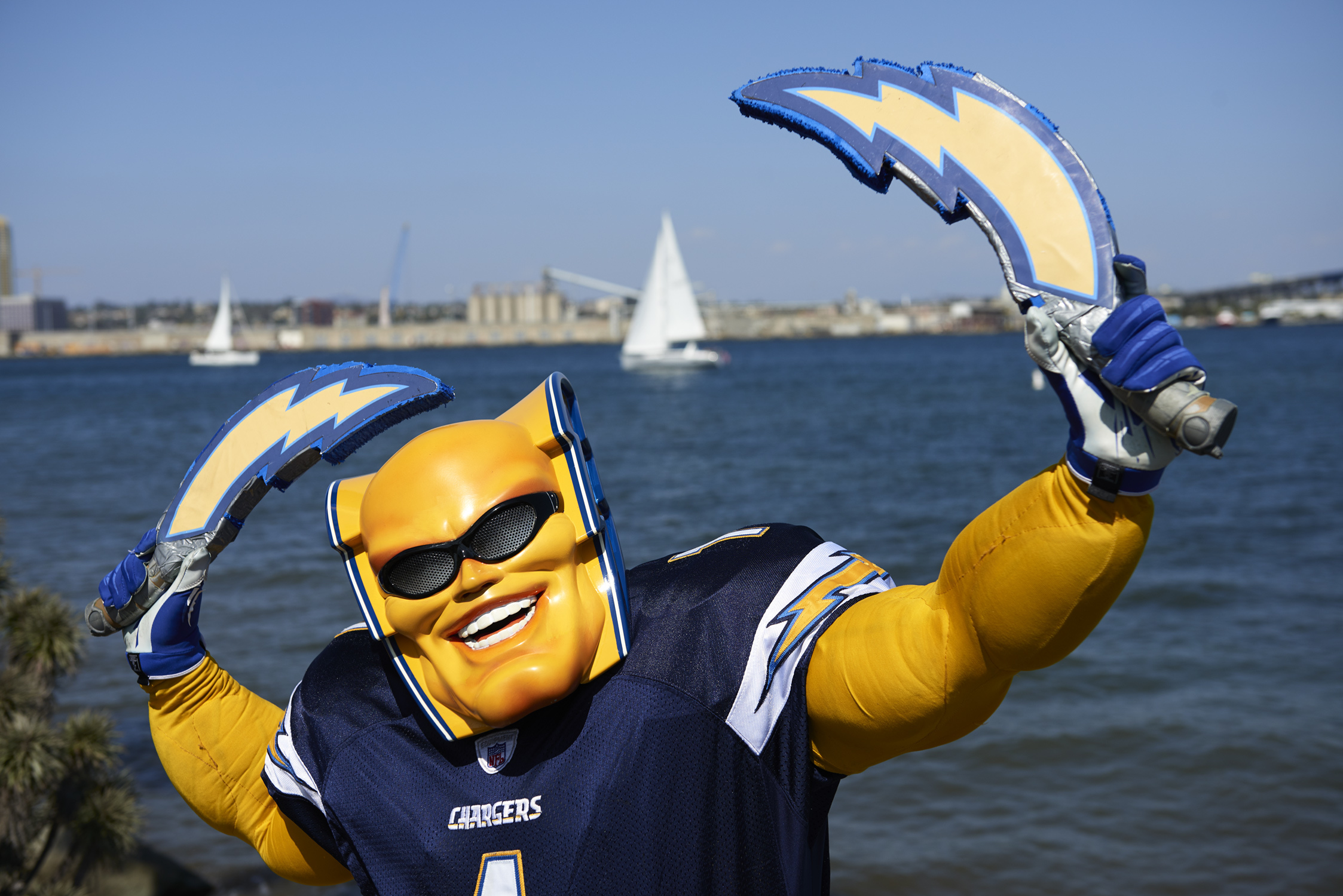 San Diego Chargers Boltman Vice Sports
