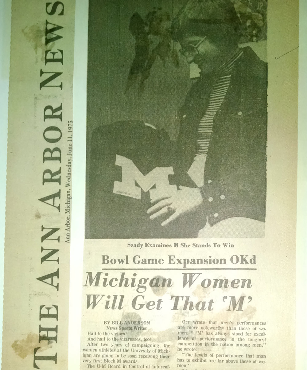 Letter of the Law: How University of Michigan Women Got Their