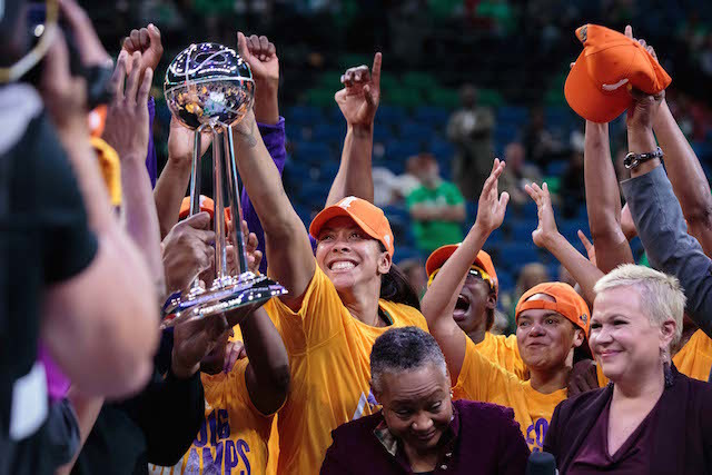 Sparks top Lynx to claim WNBA crown