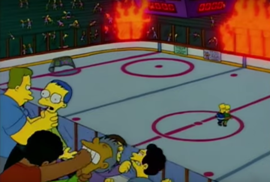 The Definitive Guide to The Simpsons' Greatest Hockey