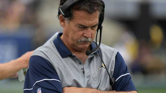 Eric Dickerson Can Now Go Back To Rams Games Jeff Fisher Got Fired