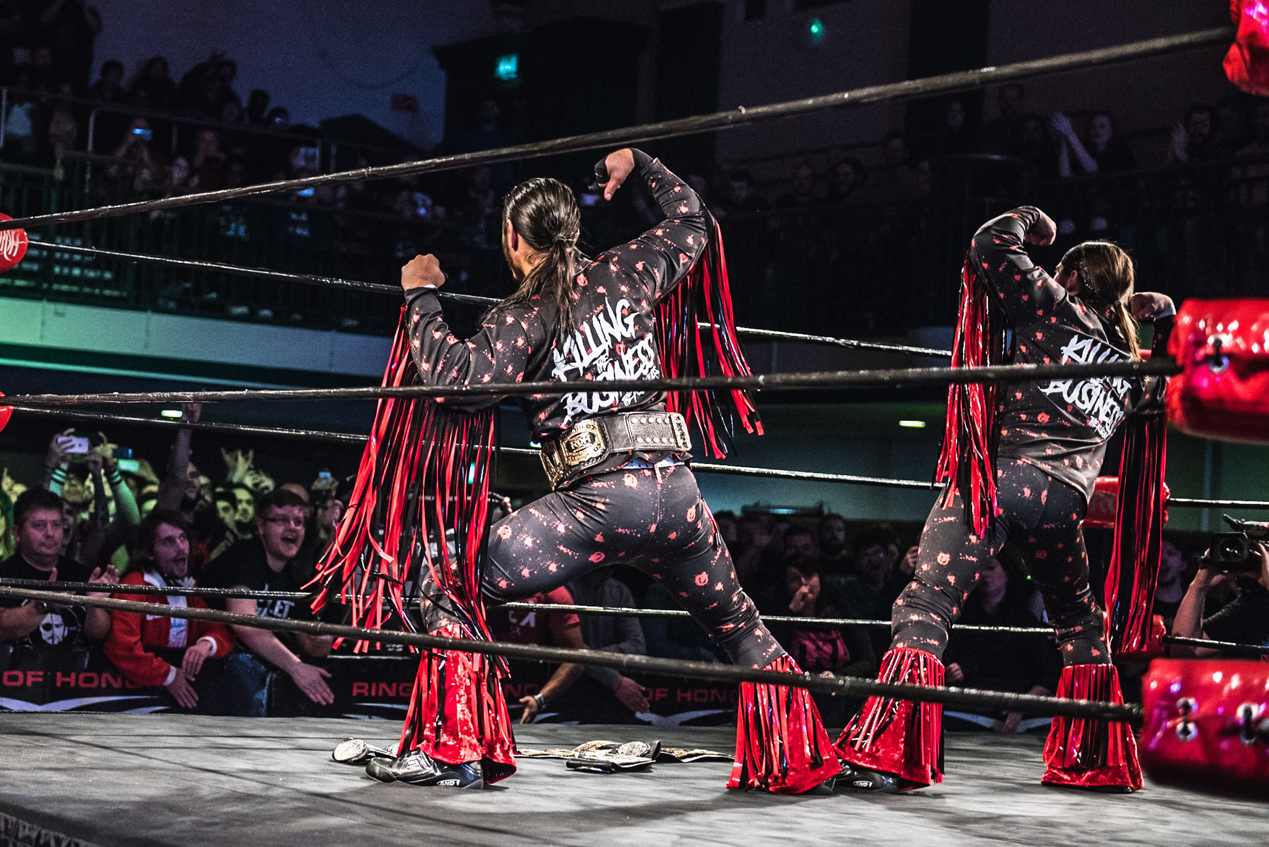 Party Next Door How The Young Bucks Revolutionized Professional - Famous wwe wrestlers looked completely different