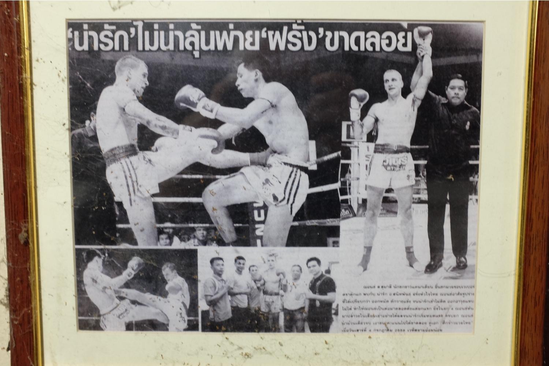community news, A Farang at Lamnamoon Muay Thai