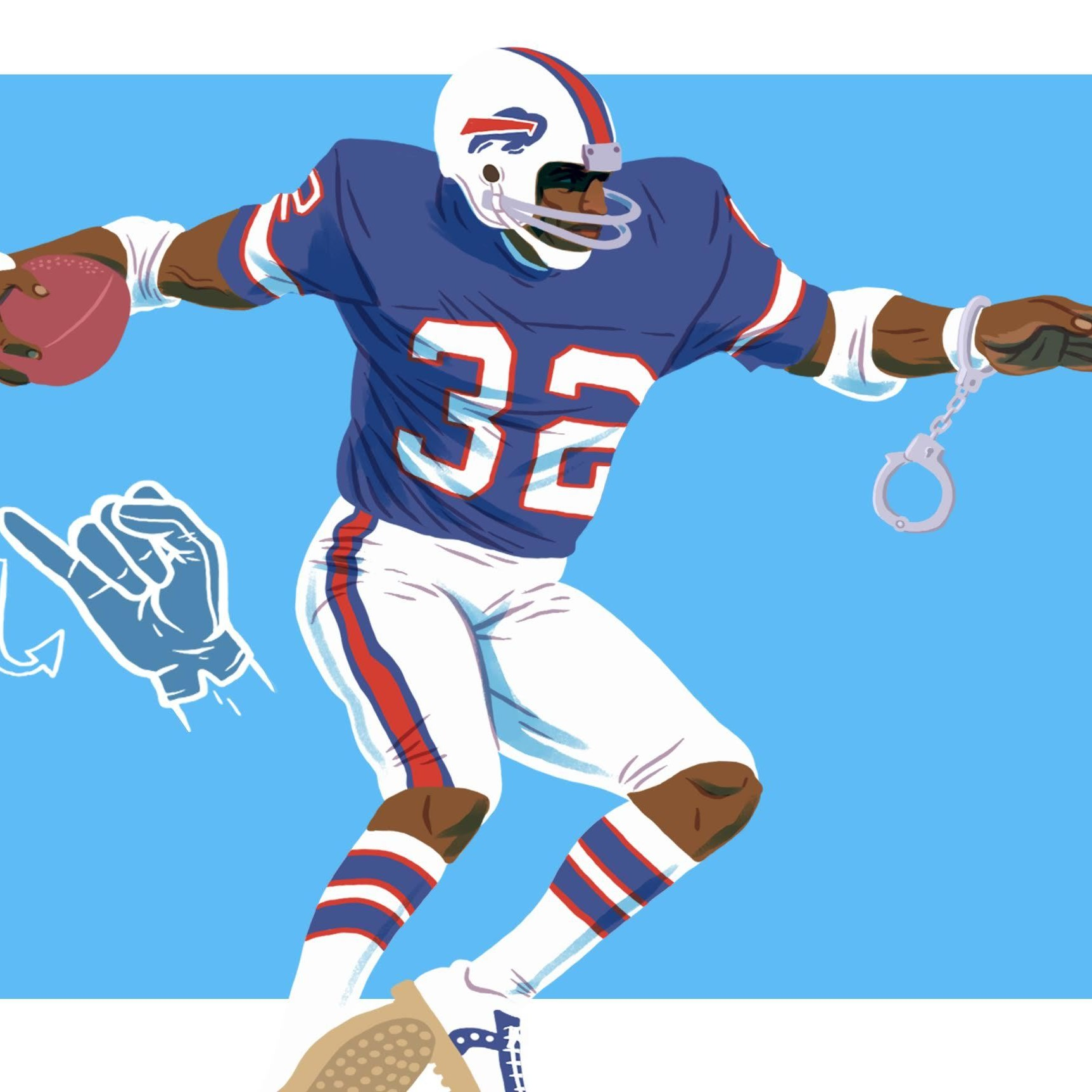 sports fan clipart. the cult: oj simpson sports fan clipart