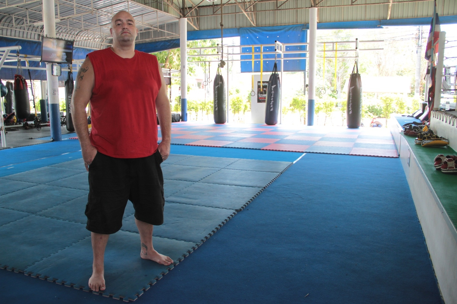 """Meet the American """"Kung Fu Panda"""" Fighting for a Muay Thai Title in Thailand"""