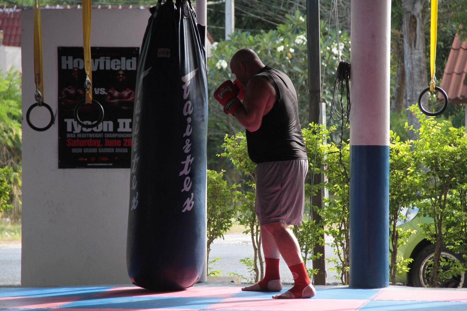 """community news, Meet the American """"Kung Fu Panda"""" Fighting for a Muay Thai Title in Thailand"""