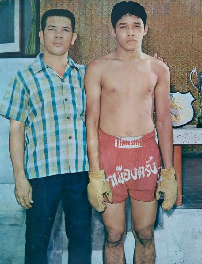 Poot Lorlek, Muay Thai Great- Sports Writers of Thailand Fighter of the Year - 1974