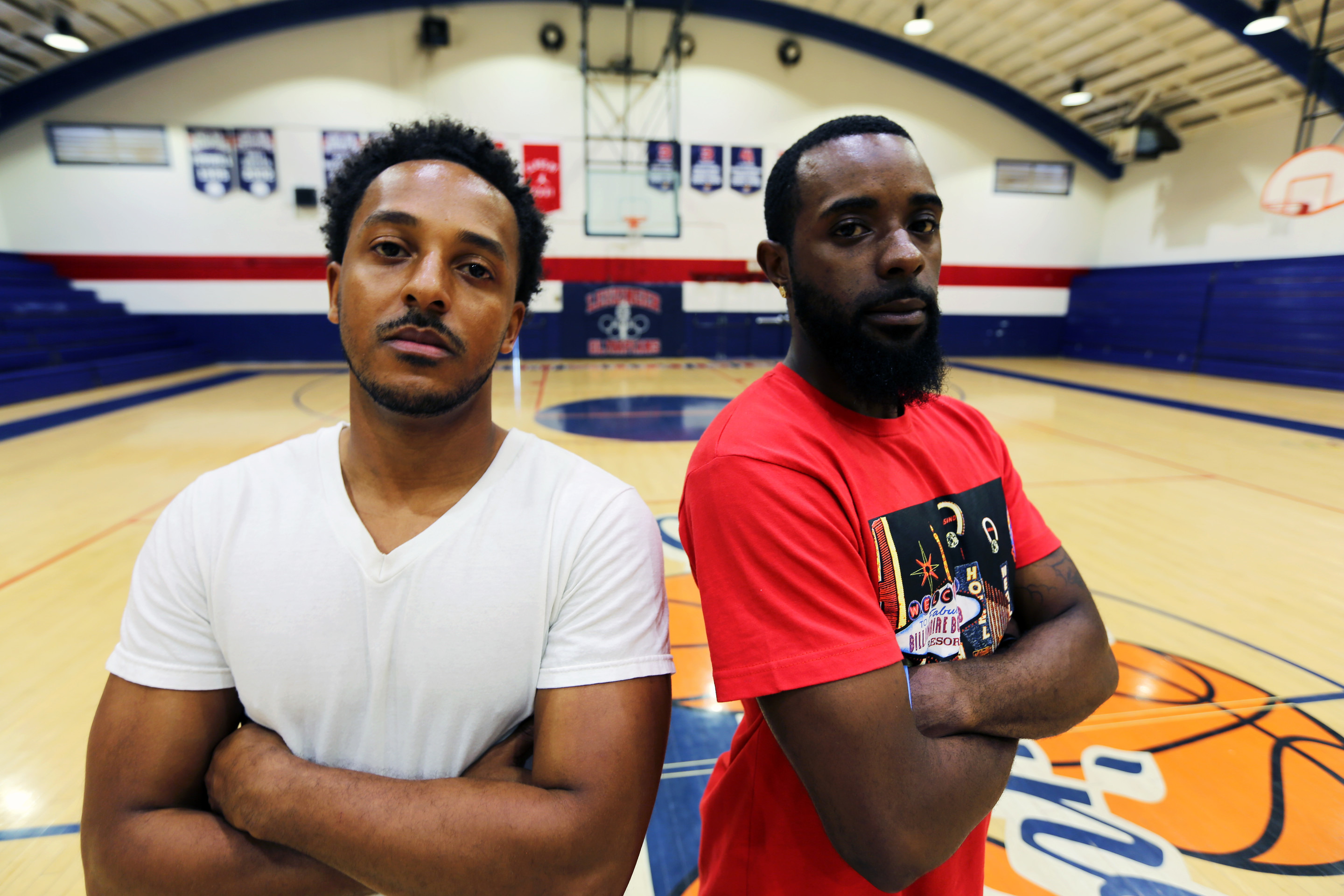 8d9ff5b69a66 Barrs  teammates Mykell Mathieu and Patrick Cleveland are now assistant  coaches at Leuzinger