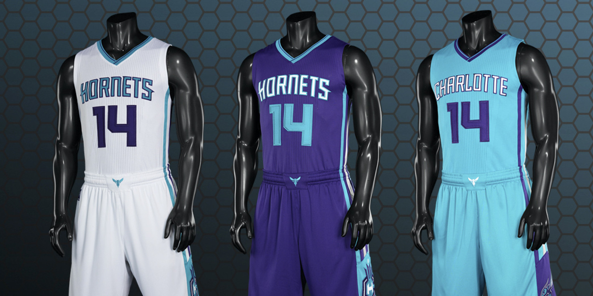 Charlotte Hornets Unveil New Uniforms and They Are a Delight - VICE Sports f99969519