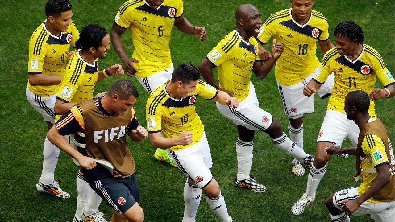 Colombian National Team's Goal-Celebration Is Our Favorite Thing