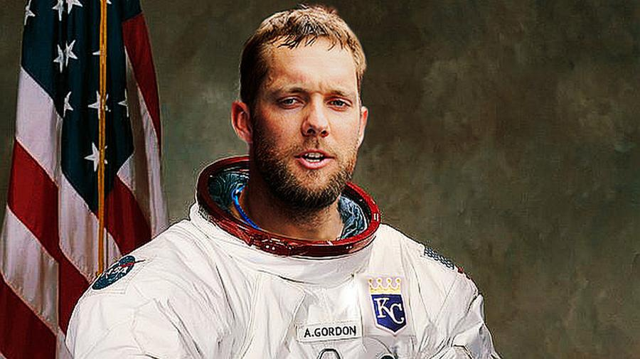 Alex Gordon: The Eugene Cernan of the 2014 MLB All Star Game