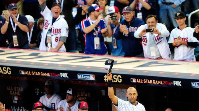 f5af44eb Photo by Jeff Curry-USA TODAY Sports. SHARE; TWEET. The 2014 All-Star Game  was the Derek Jeter ...