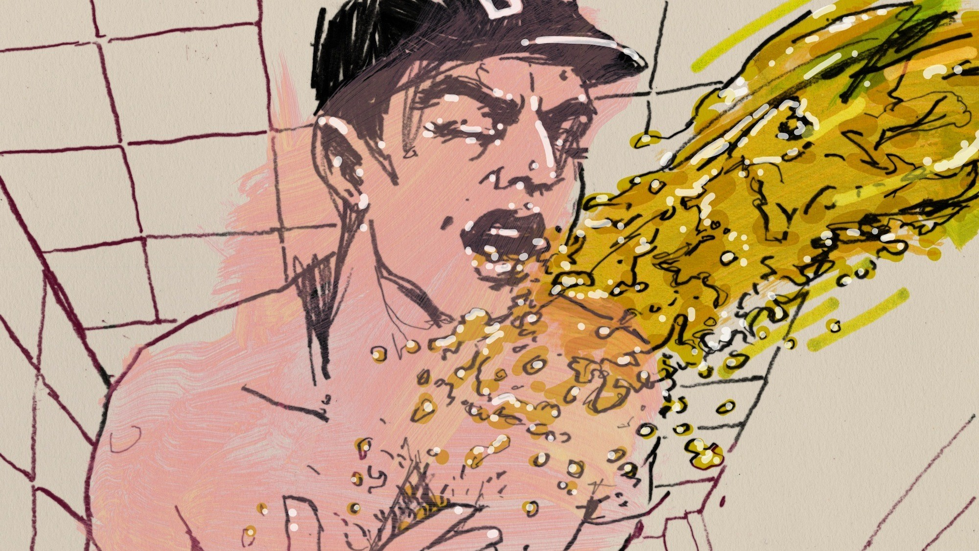 Baseball Erotica #3: Ty Cobb and the Golden Showers
