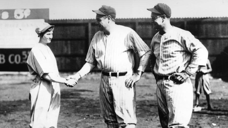 The Woman Who Struck Out Babe Ruth And Lou Gehrig