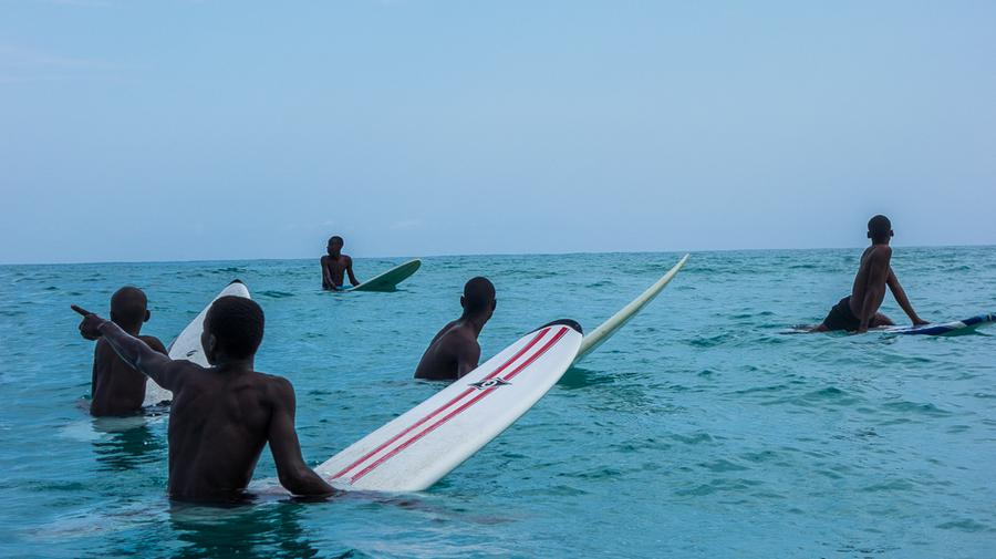 Surfing Toward a Better Life in Haiti