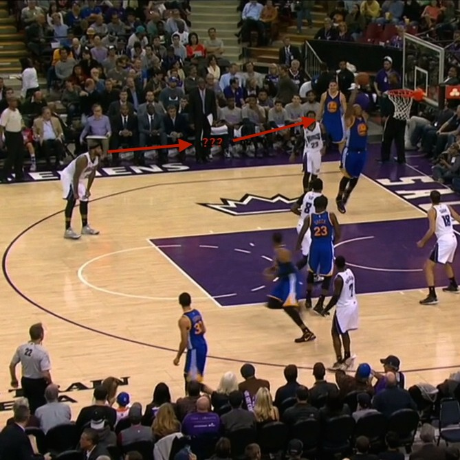 Other Team Sports: DeMarcus Cousins Is Just Hanging Out Watching The Other
