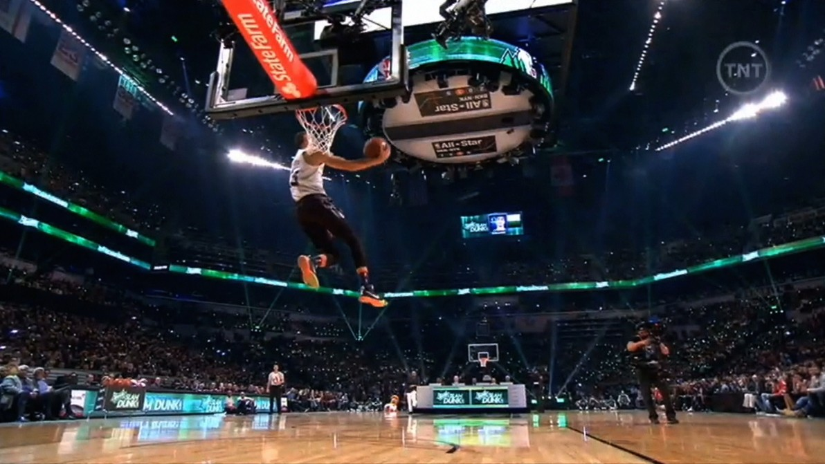 Zach LaVine Ruled the Dunk Contest