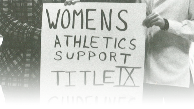 equality between the sexes in college sports Quinnipiac university continue to be brought to affirm schools' obligations to comply with its mandate for gender equality in athletics sex -segregated schools.