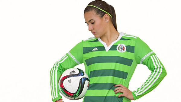 The Mexican Women's Soccer Team Gets Its Own Uniforms