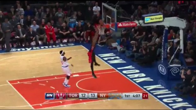 "DeMar DeRozan Tries 360 Dunk And You'll Notice We Said ""Tries"""