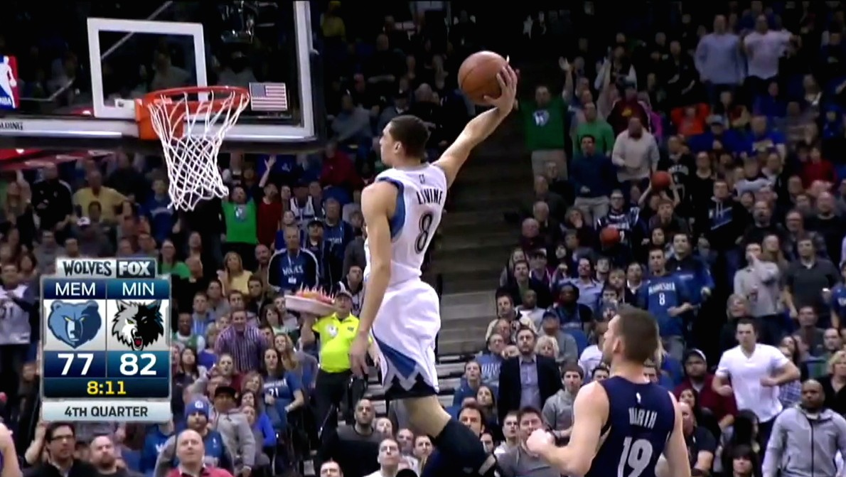 Zach LaVine Dunks Are Still Gorgeous