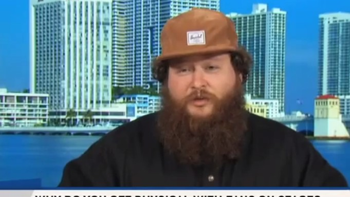 Action Bronson Gets Extremely Sports on ESPN