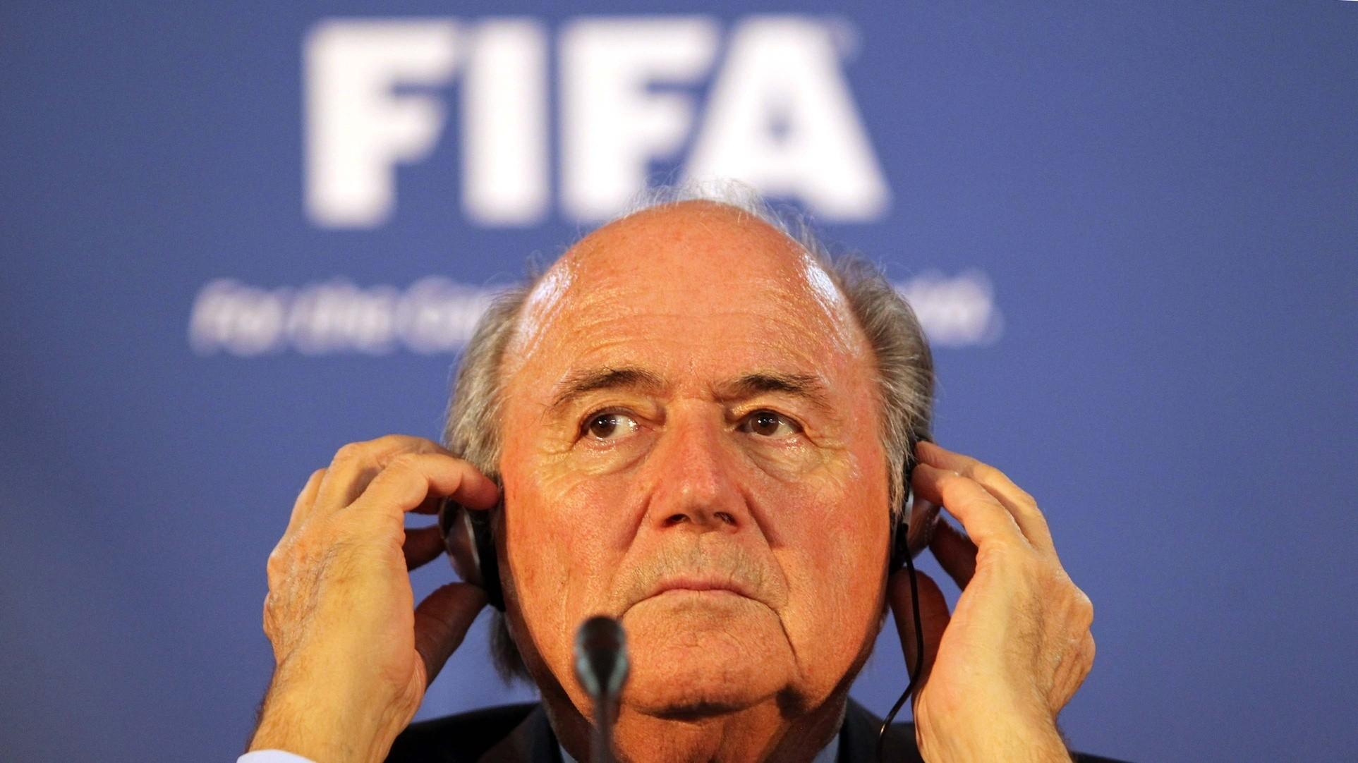 Sepp Blatter Offers New Definition of Irony, Calls For Iran to be Less Sexist
