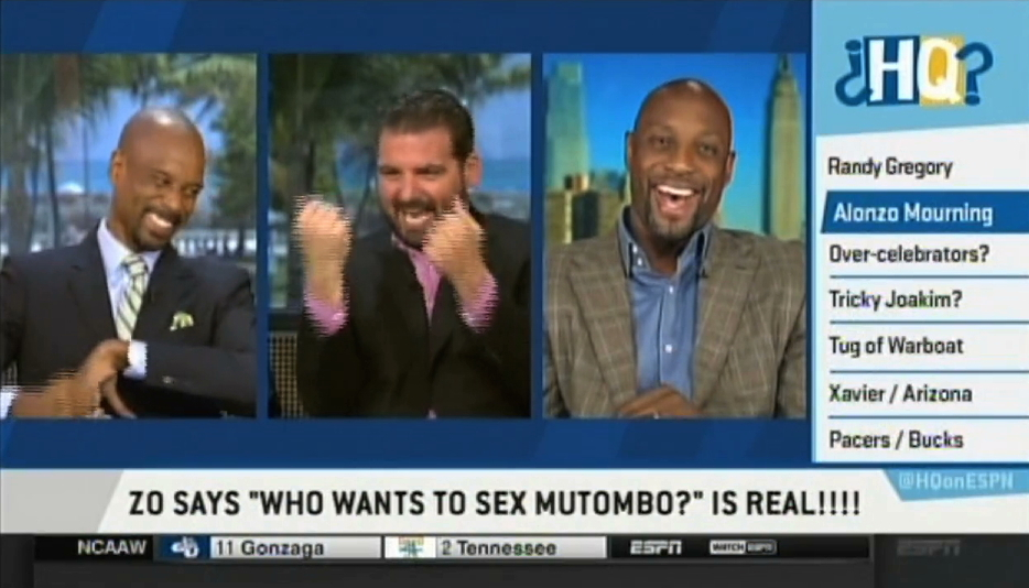 Who wants to sex mutombo
