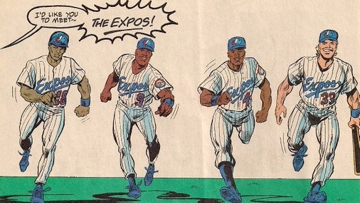 When Spider-Man Met The Montreal Expos