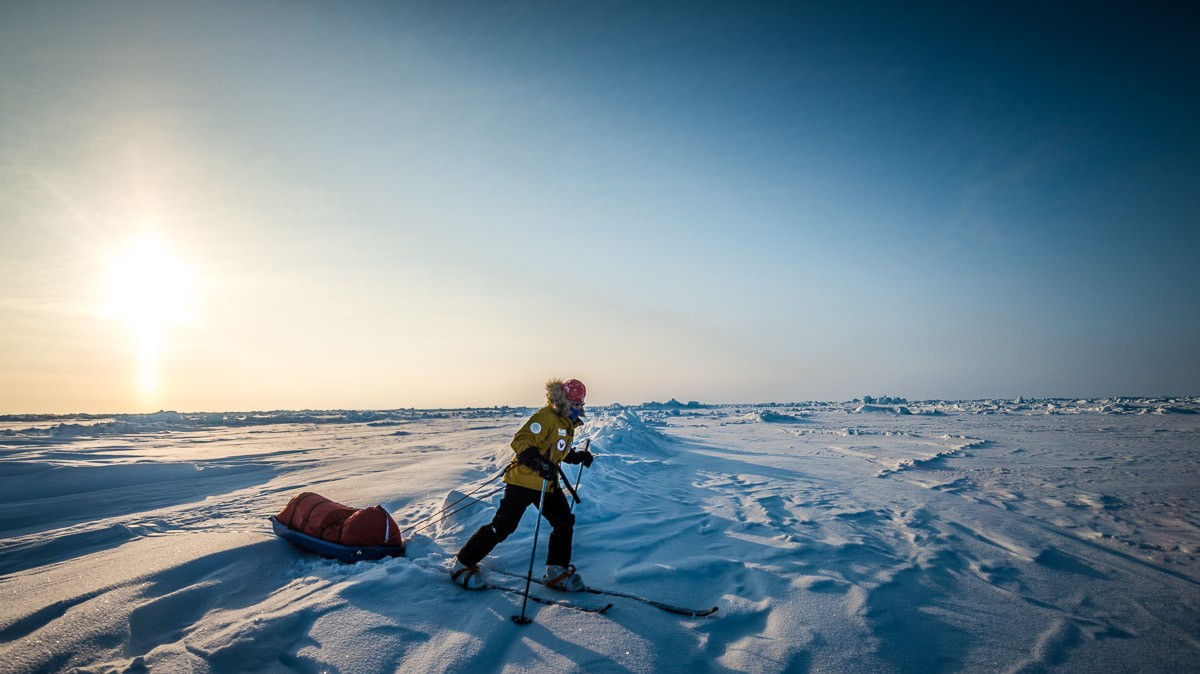 Racing the Last Degree of the North Pole