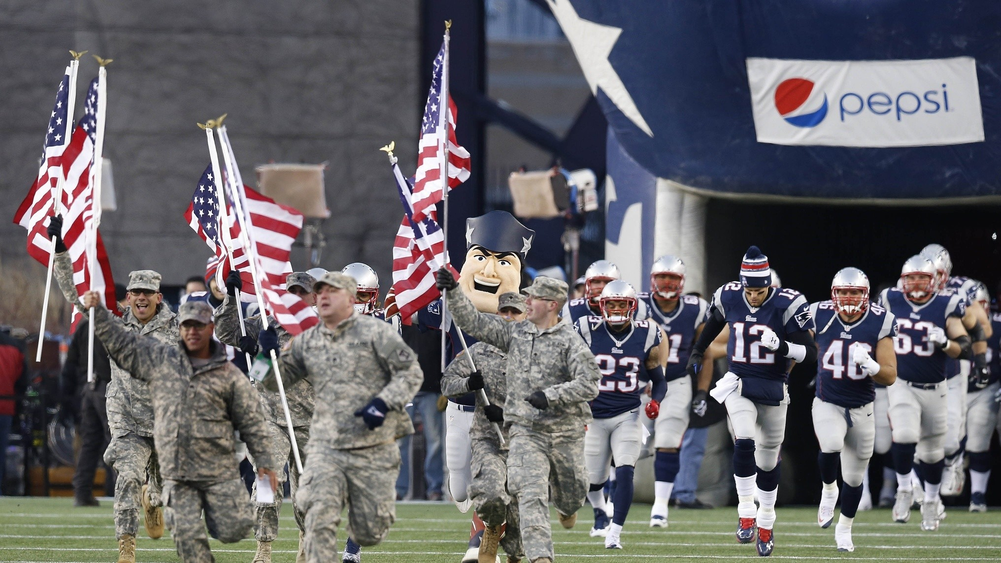 Can the NFL and the Military Stay Together?   VICE Sports