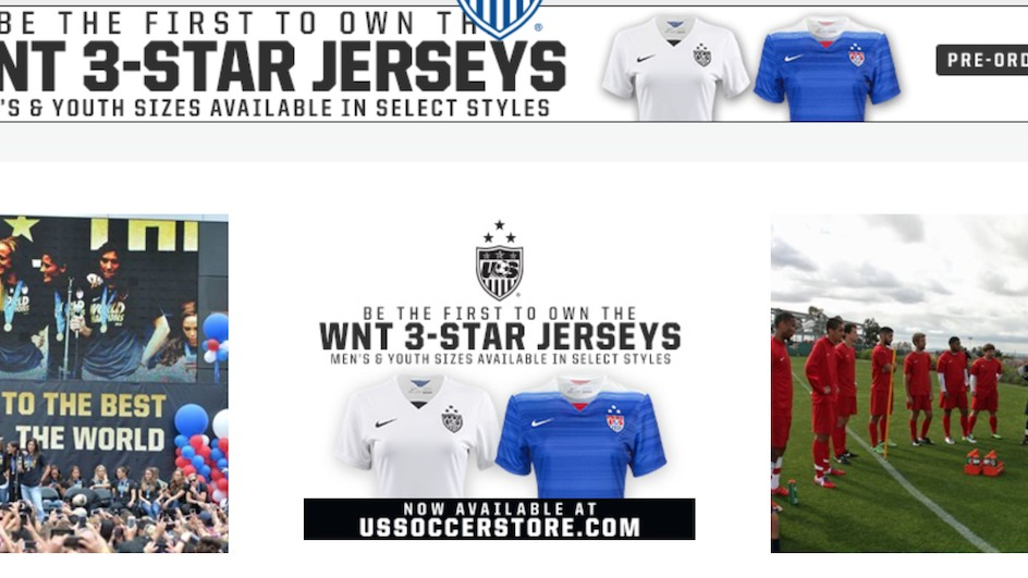 Why Can't You Buy USWNT Jerseys In Men's Sizes?