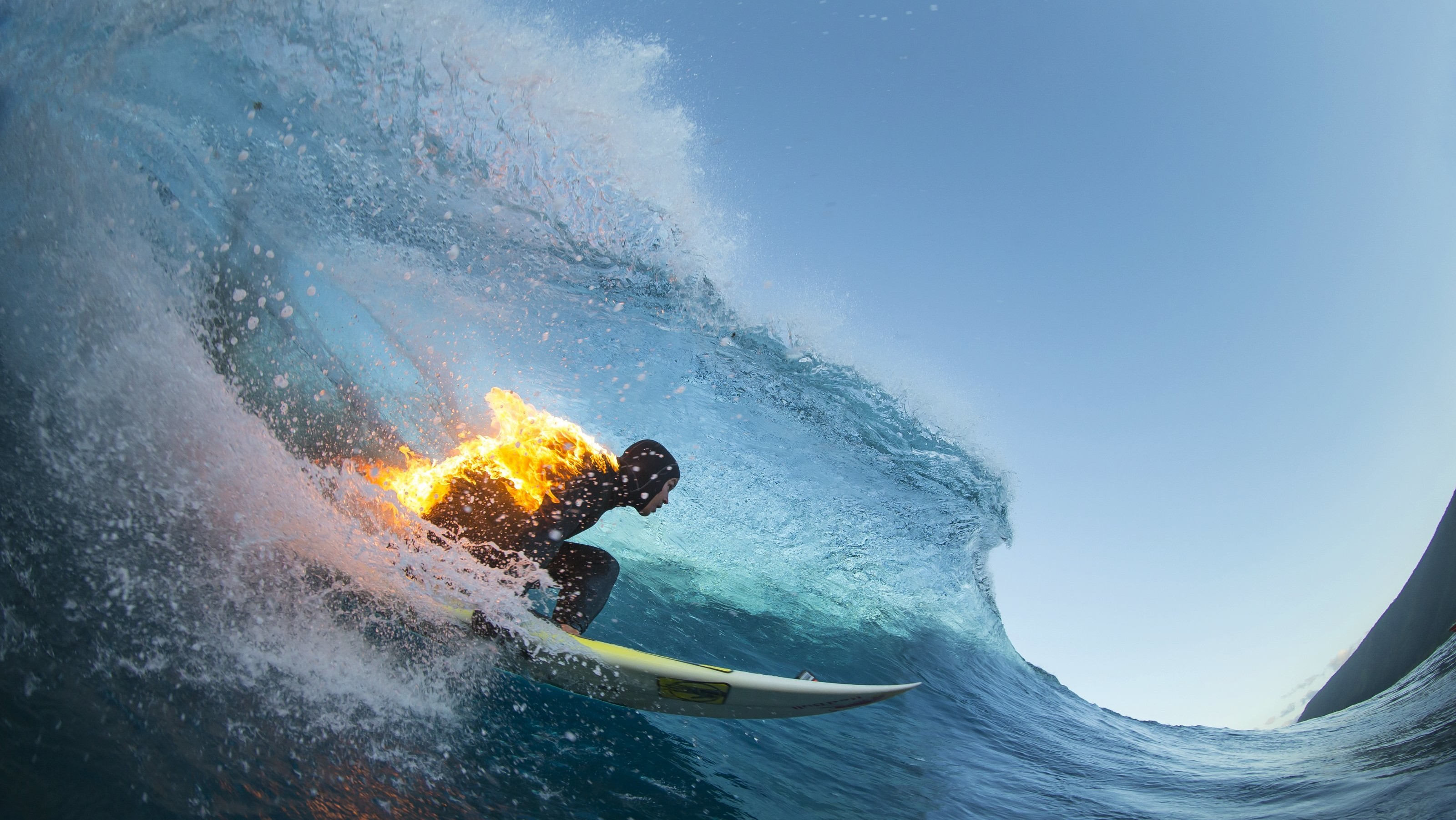 Surfing on Fire for Facebook Likes
