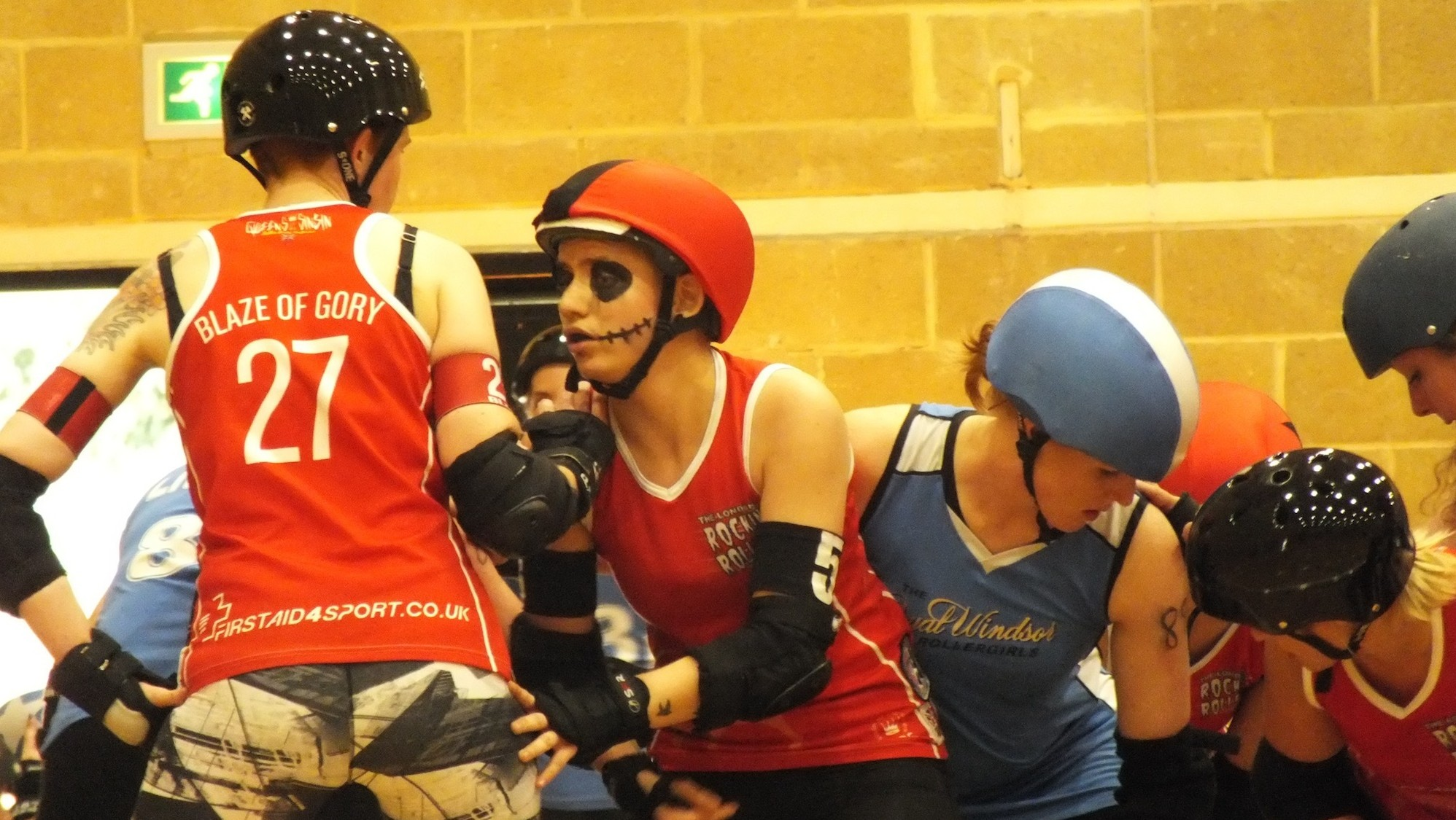 Inside the Badass World of British Roller Derby