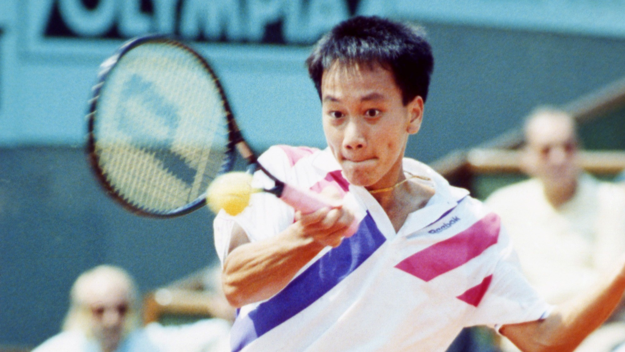 Throwback Thursday 15 Year Old Michael Chang at the U S Open