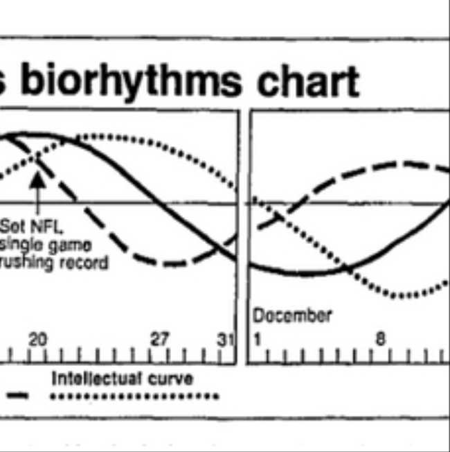 Biorhythms The 1970s Fad That Won A Super Bowl Killed Clark Gable And Made America Gaga For Computers
