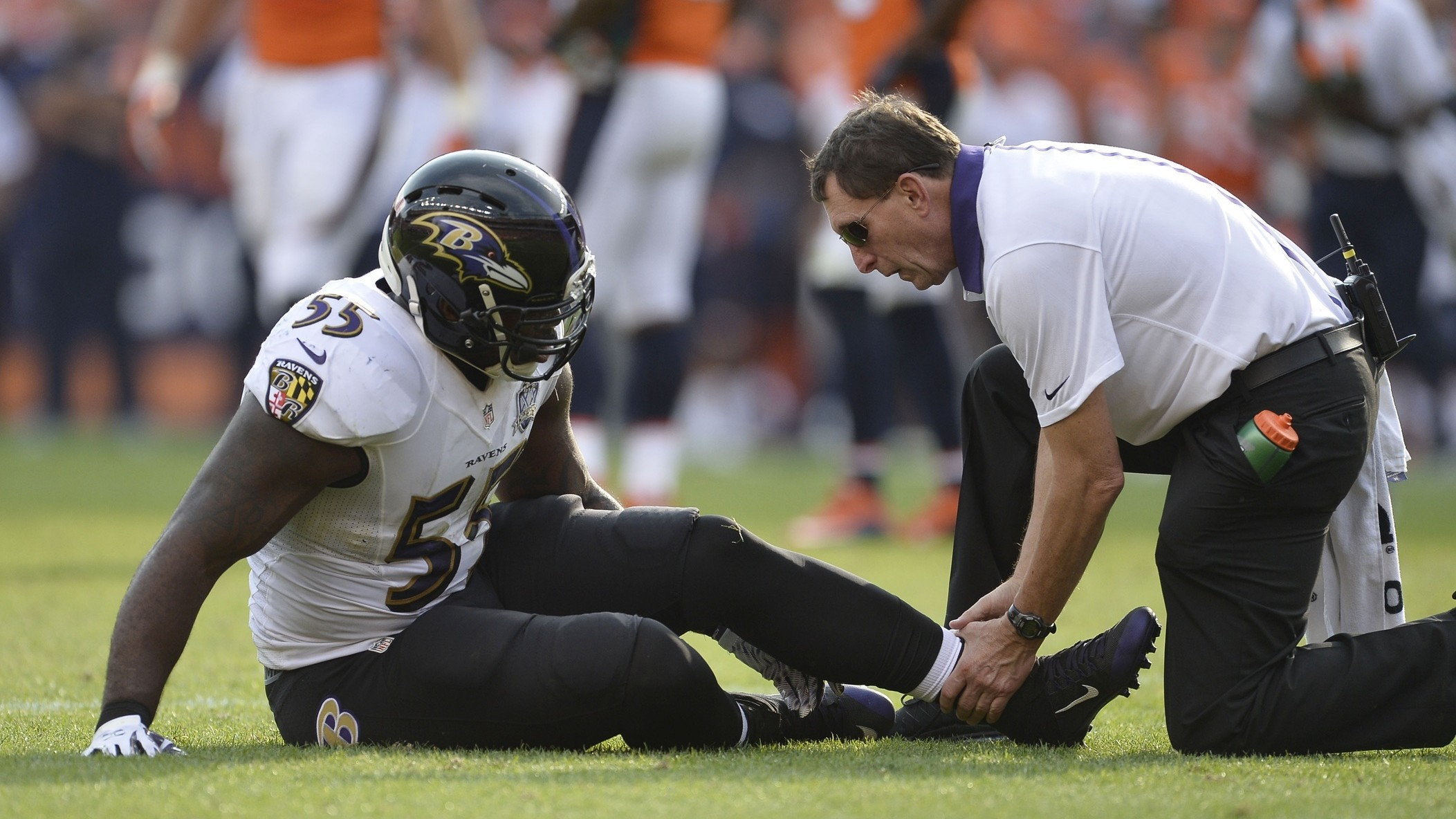 Situation Impossible Replacing Terrell Suggs VICE Sports