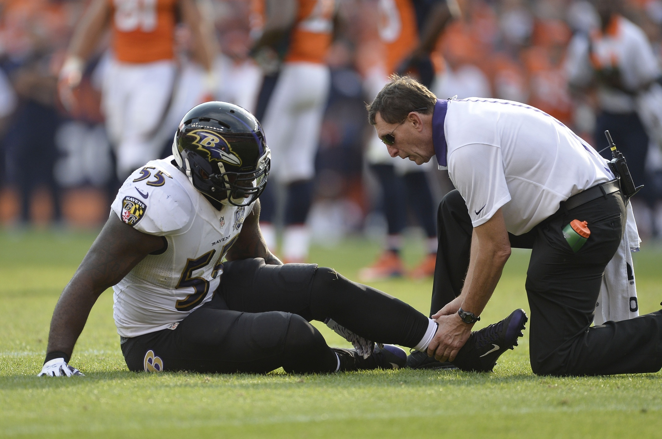 The Ravens lost their best edge rusher on Sunday. But unlike many teams they actually might have the depth to approximate Terrell Suggsu0027 production. & Situation Impossible: Replacing Terrell Suggs - VICE Sports pezcame.com