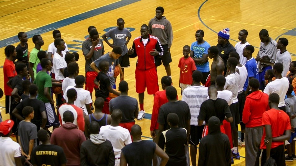 For Sudanese Refugees in Omaha, Basketball is a Beacon for Change